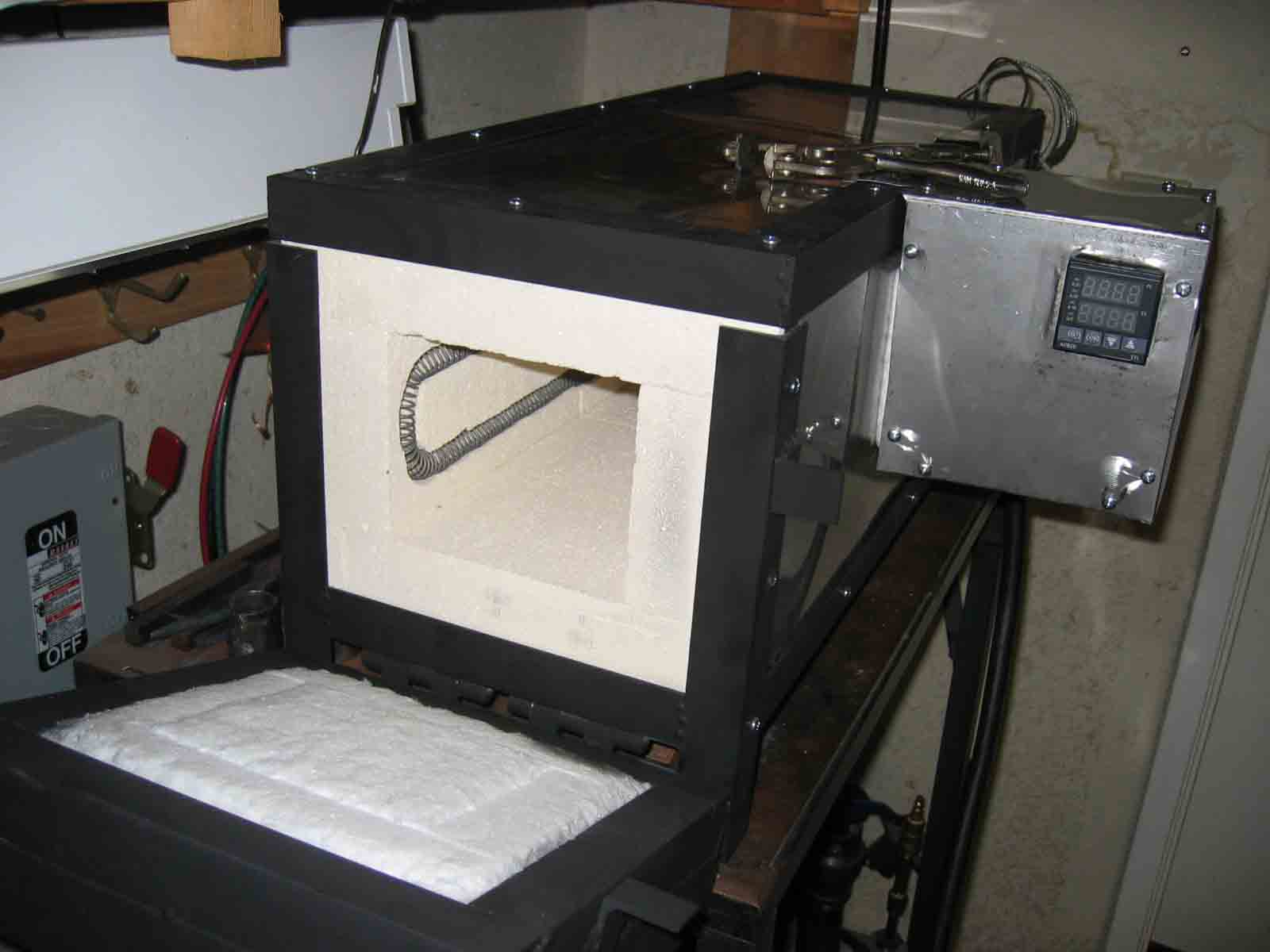 Knife Forging Ovens : Diy knife heat treat oven do it your self